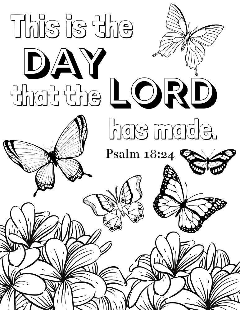 Scripture Coloring Pages Pdf