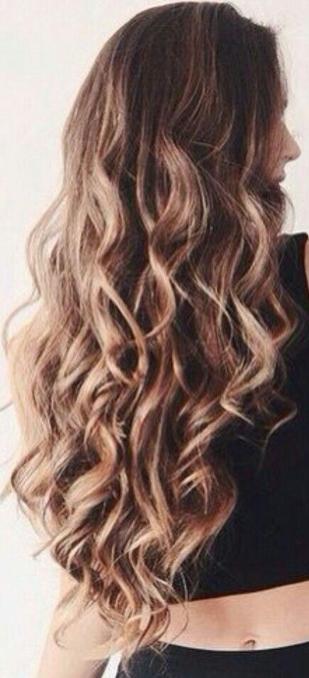 Balayage Wavy Hair Gorgeoushair Hurr Pinterest Wavy Hair And