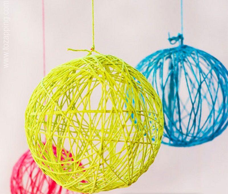 cmo hacer bolas de navidad con globos estas esferas son geniales y muy fciles de hacer podis hacerlo con la familia o con los nios les encantu