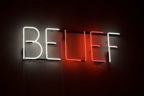 BELIEF / BE(LIE)F / LIE