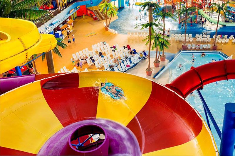 Take The Plunge At Fallsview Indoor Waterpark Toronto4kids