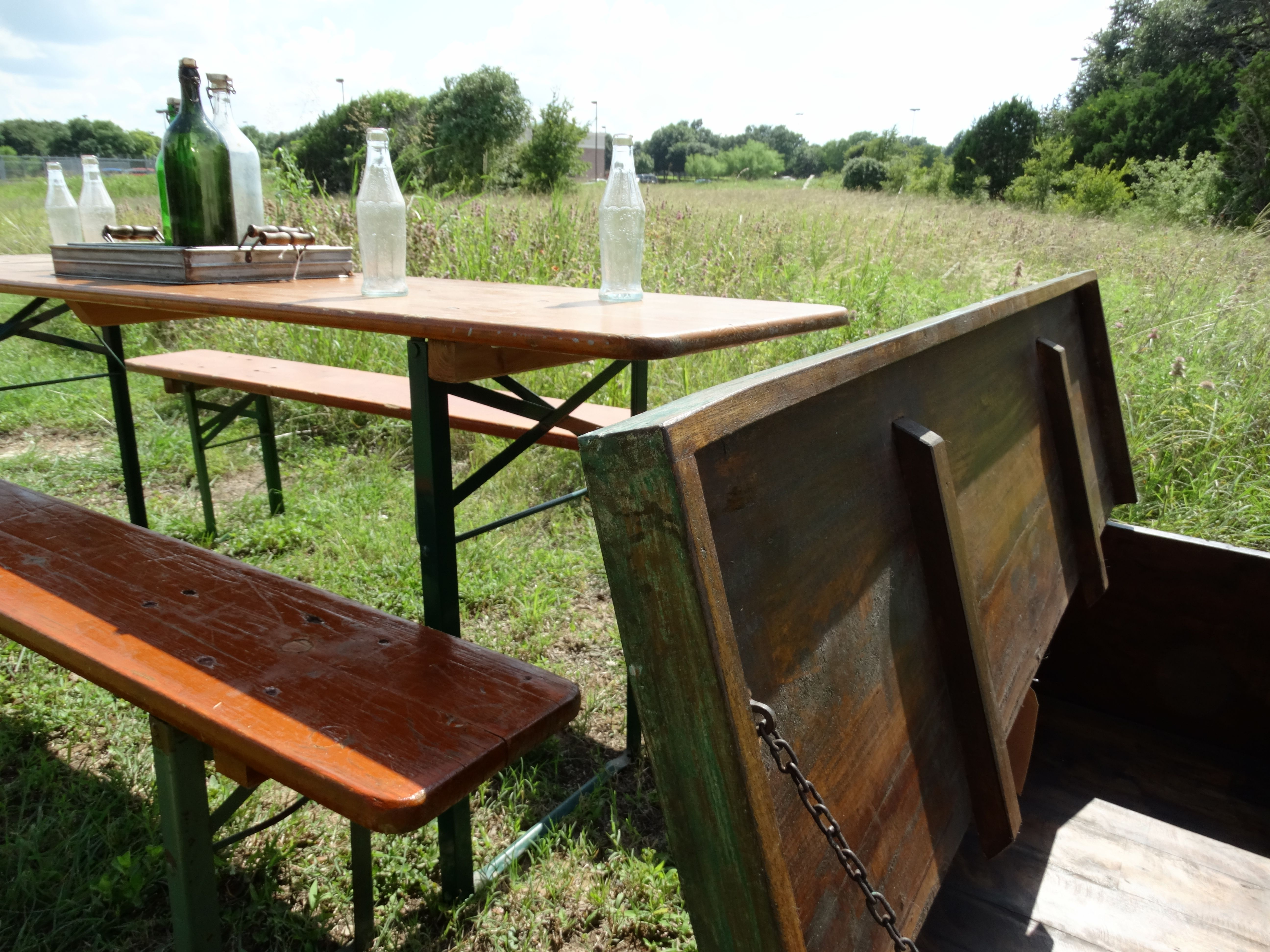 This Beer Garden Table Was Made From Spruce In The 1980s In The Stuttgart Area Of Southwest Germany Although These Lo Upscale Furniture Furniture Garden Table