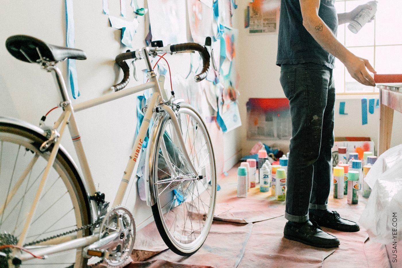 Public Bike Stories | Artist Jose DiGregorio