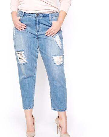 Rachel Roy Straight Leg Jeans