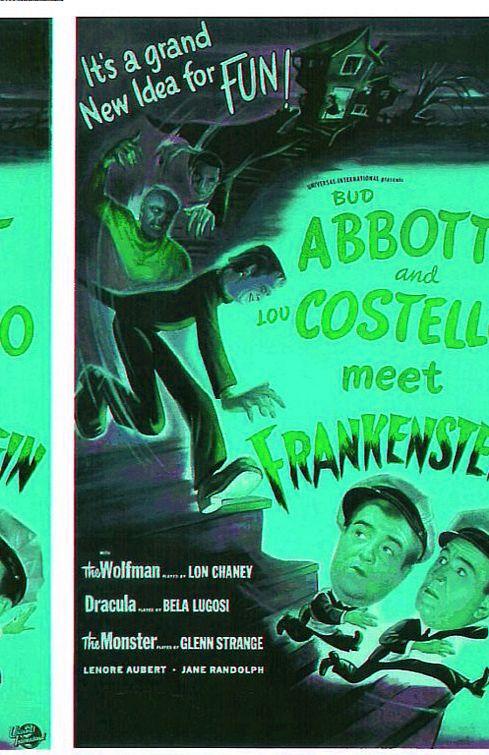 Bud Abbott Lou Costello Meet Frankenstein 1948 Abbot