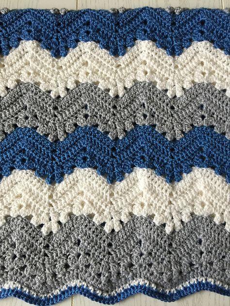 Easy 6 Day Kid Blanket Free Pattern Pinterest Free Pattern