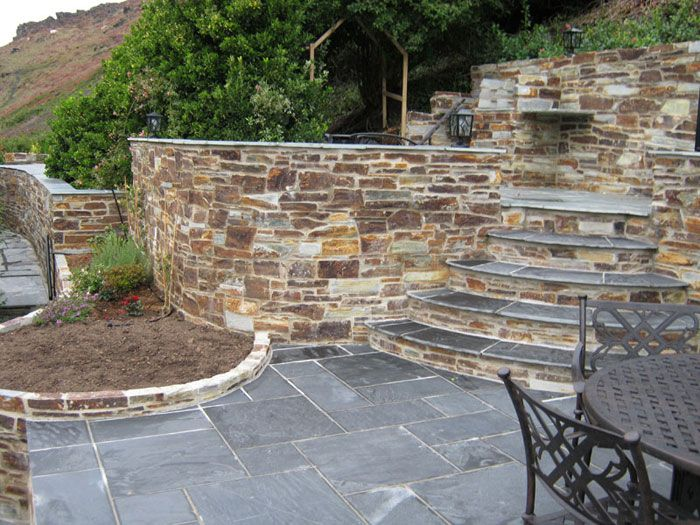 Perfect Marshallu0027s Fairstone Slate By Coast Garden Design U0026 Construction