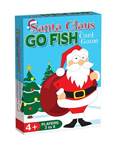 Santa Claus GO FISH, a 3-in-1 Christmas Game for Kids (GO FISH, Old
