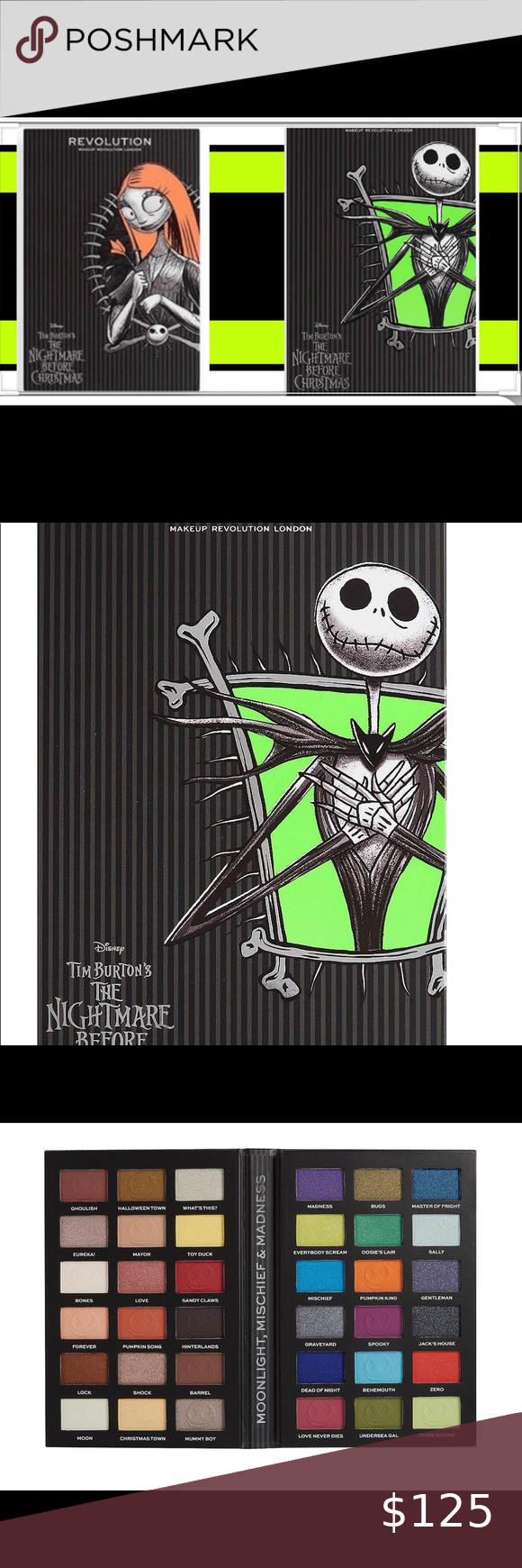 Limited Edition Nightmare Before Christmas Palette in 2020
