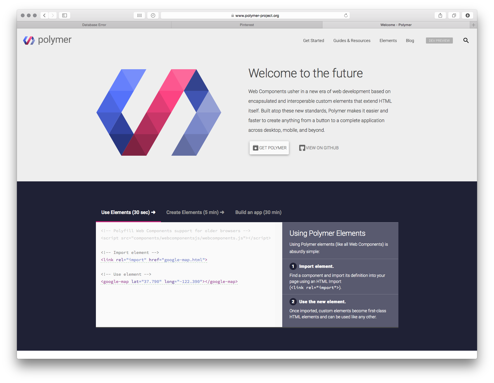 Example of a nice simple site from google   MintTwist