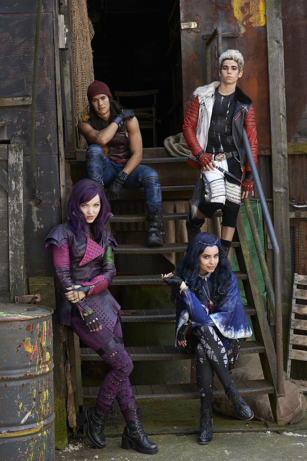 High School Gets Villainous in Disney: Descendants On Disney Channel in 2015