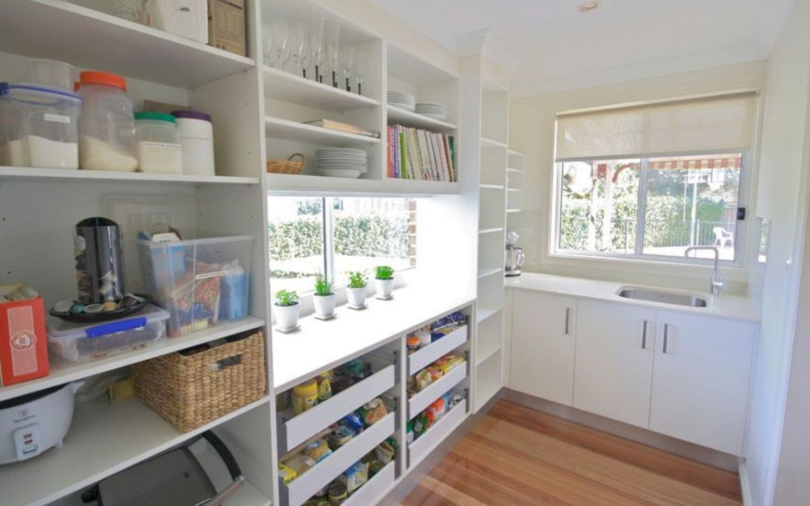 16 Breathtaking Kitchen Pantry Designs   Kitchen pantry design ...