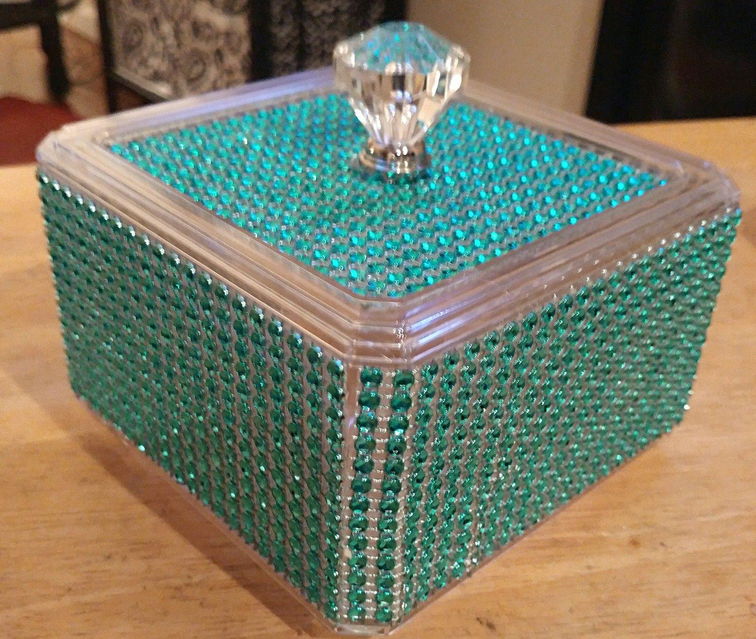 Diy Dollar Tree Bling Box Acrylic Box Diamond Wrap And