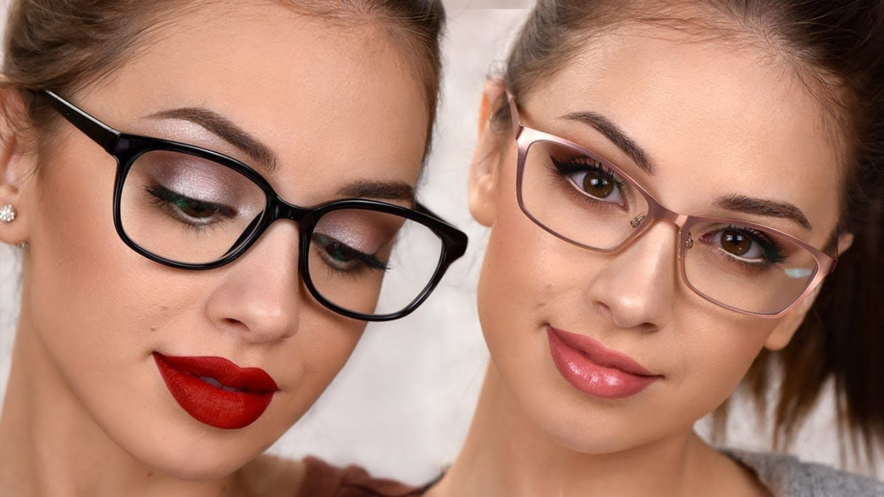 Makeup For Glasses 3 Easy Everyday Makeup Looks Simple Everyday Makeup Makeup Looks Glasses Makeup