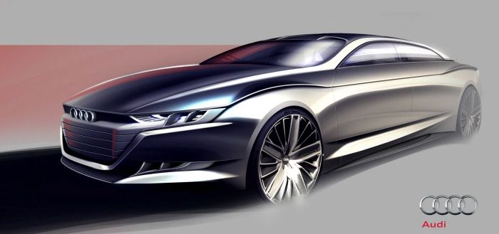 Audi - Super Saloon (Personal Project) by Melvin Dominguez at Coroflot.com