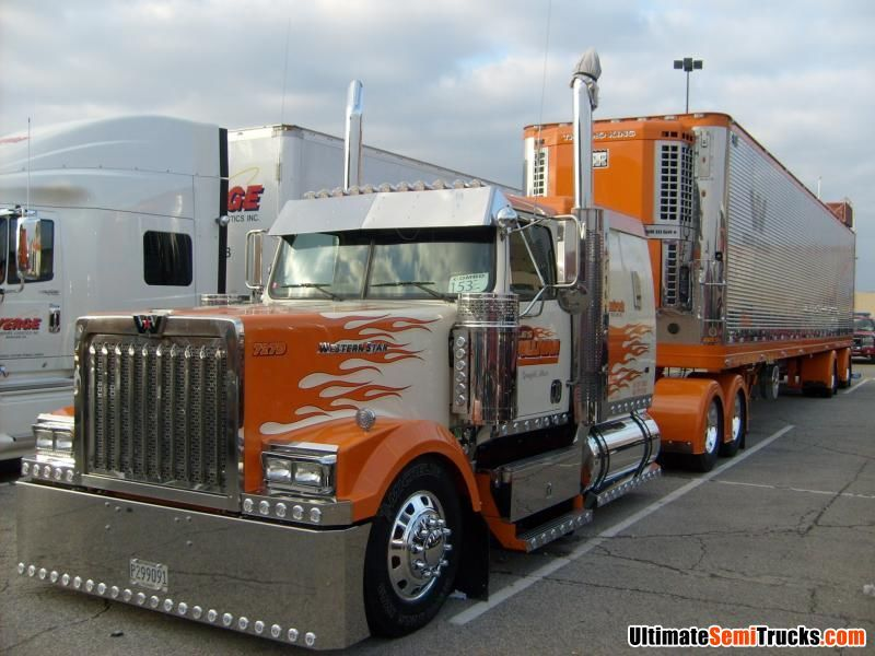 Custom Western Star From The 2008 Mid America Truck Show Western