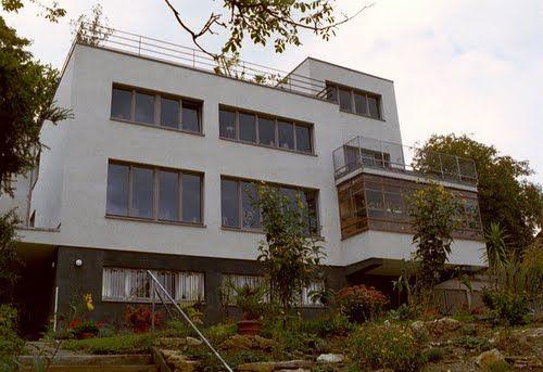 Villa Zuckerkandl Jena , Weinbergstrasse (Bauhaus in Jena