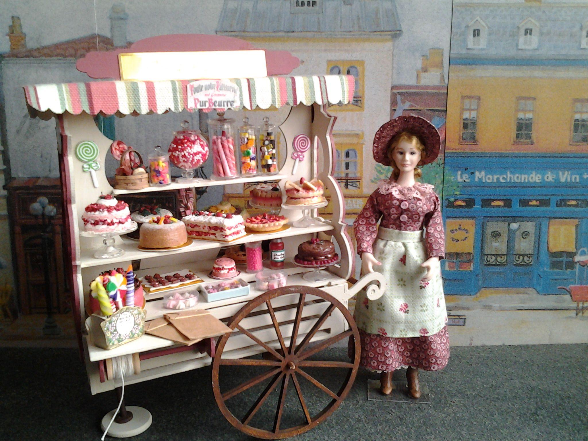 carrito de pasteles/pastry stall