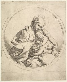 Guido Reni Madonna and Child in the Round