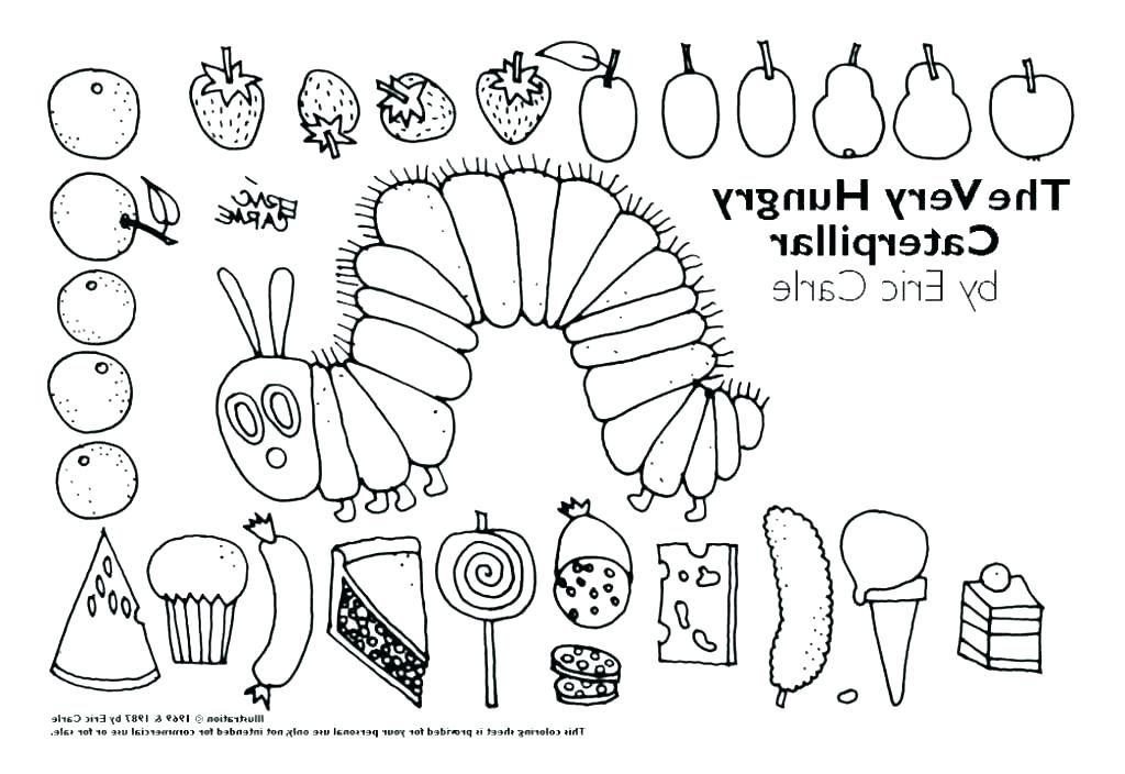Very Hungry Caterpillar Coloring Page Beautiful Collection Caterpillar Hungry Caterpillar Activities The Very Hungry Caterpillar Activities Hungry Caterpillar