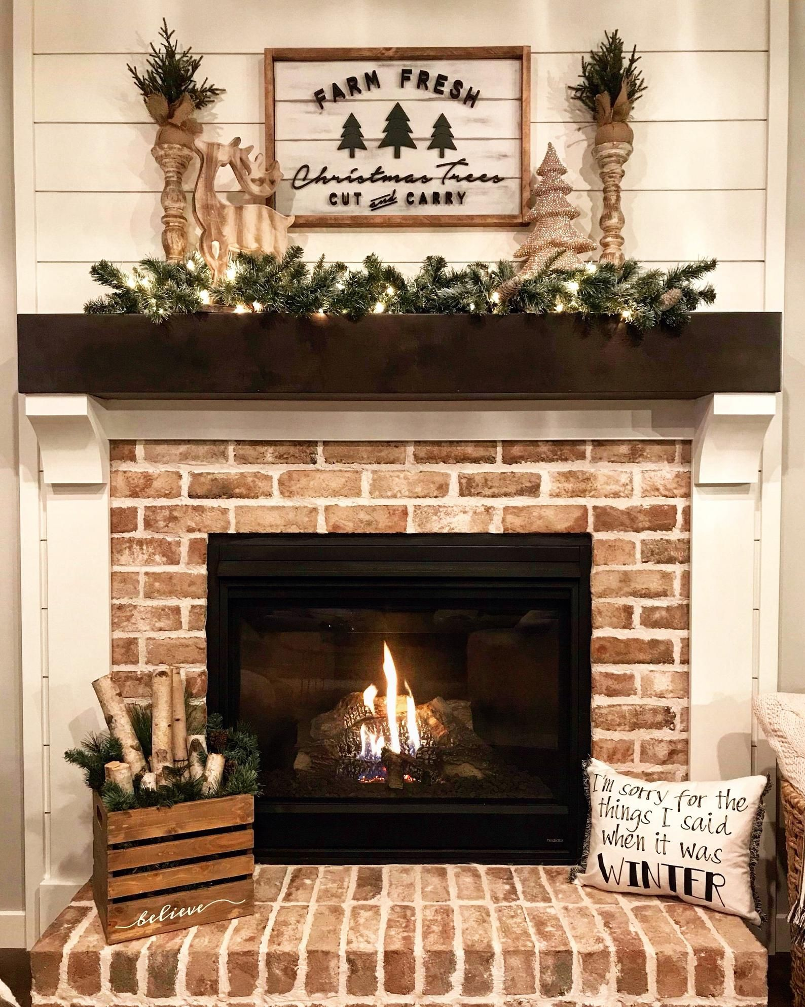 Photo of Christmas Tree Sign / Farmhouse Style Wall Decor / Farm Fresh Christmas Trees Sign / Holiday Sign / Wall Art / 3D Sign / Wood Signs