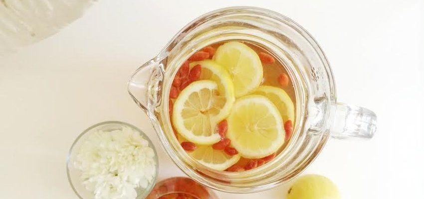 Diy insanely refreshing honey rooibos goji tea goji