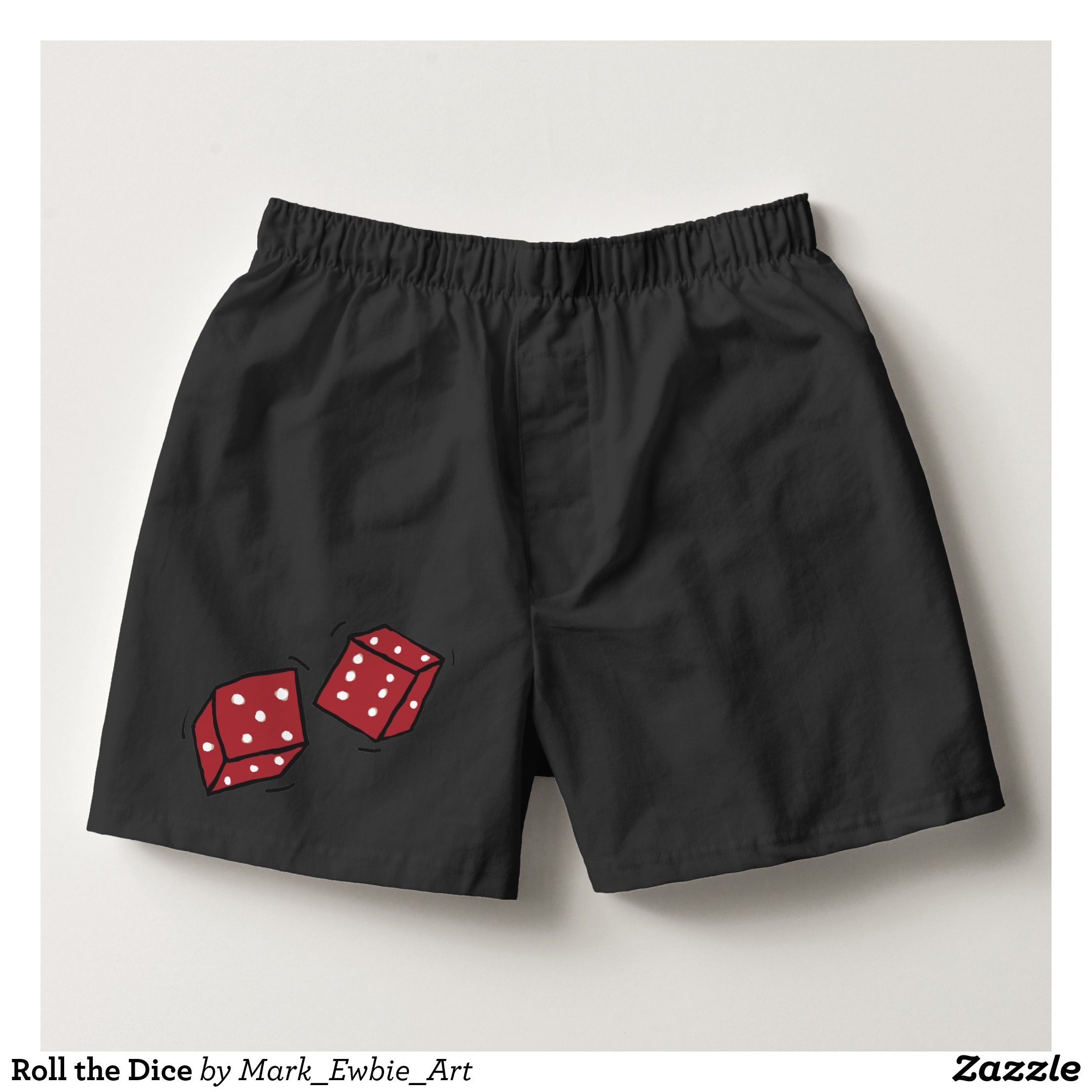Floral Elephant Pattern Mens Boxer Briefs Underwear