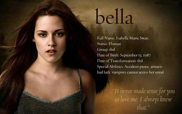 The Twilight Saga - Bella