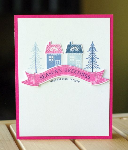 to the full Papertrey Ink October Blog Hop papertrey christmas - tarjetas creativas