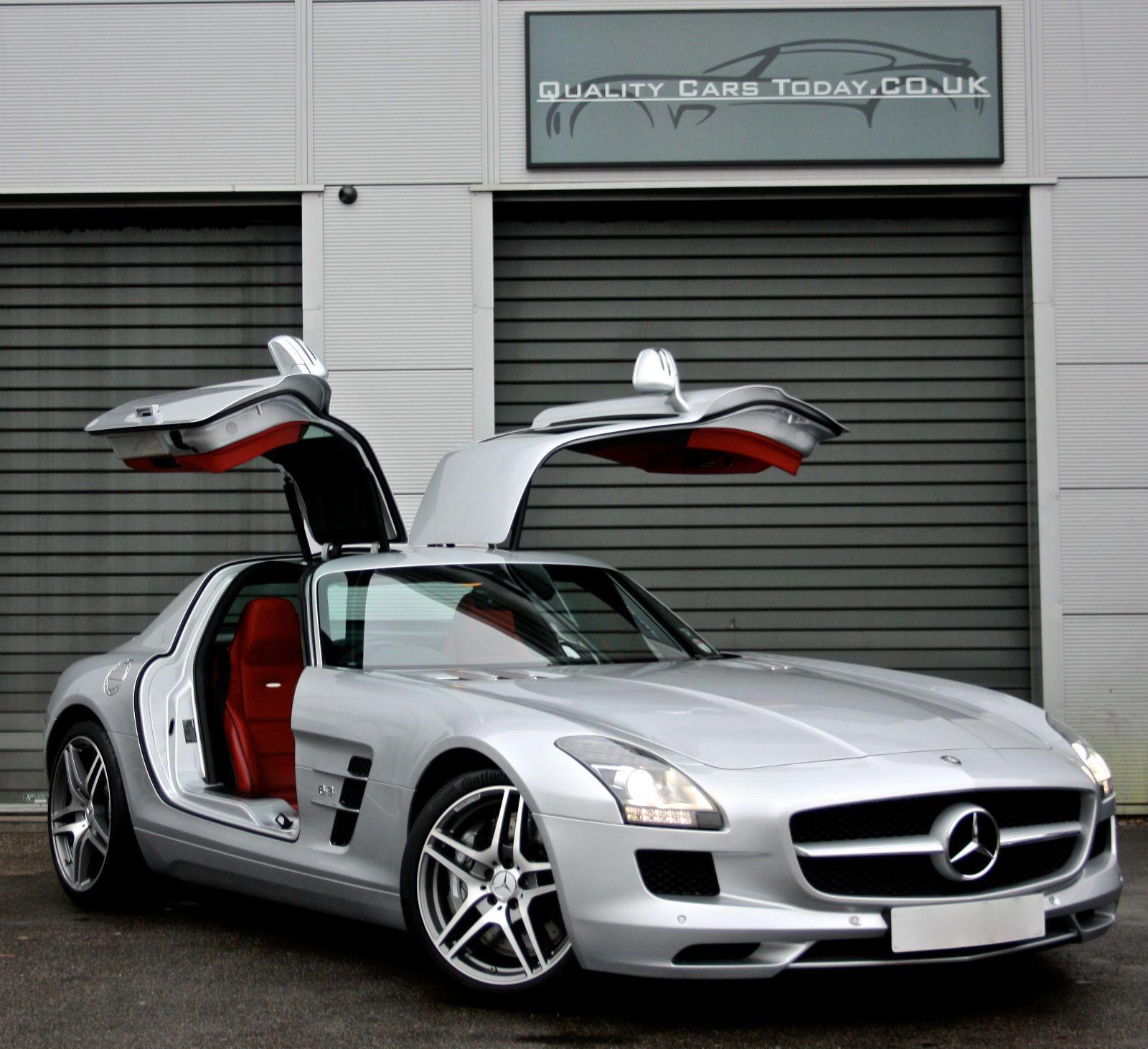 Mercedes Benz Sls 63 Amg 6 2 V8 Iridium Silver Designo Classic