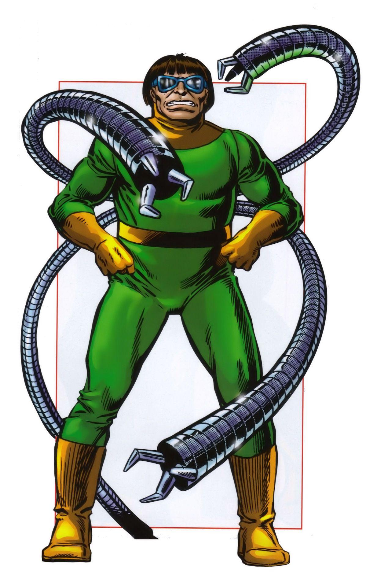 Doctor Octopus (Otto Gunther Octavius) | Marvel Super ...