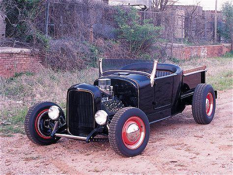 Custom 1927 Ford Model T Pickup Feature Vehicle Rod And Custom