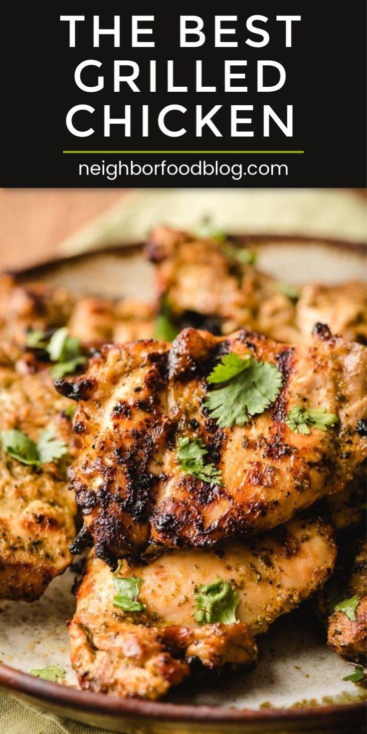 Mexican Chicken Marinade (Fajita Cilantro Lime recipe) | NeighborFood