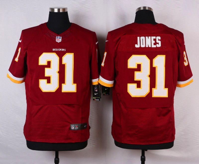 Washington Redskins #31 Matt Jones Burgundy Red Team Color NFL Nike Elite Jersey