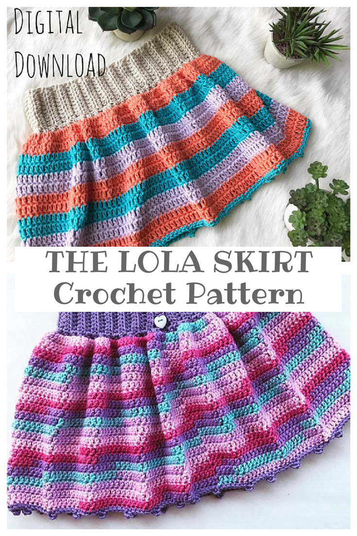 Always Wanted To Make A Crochet Skirt For Casey And I Think I Found