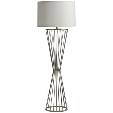 Arteriors Home Norah Brushed Nickel Floor Lamp http://www.lampsplus.com/products/arteriors-home-norah-brushed-nickel-floor-lamp__u2966.html#