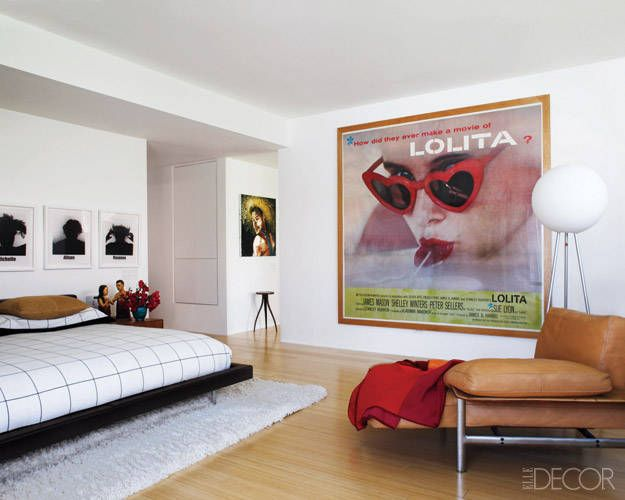 A graphic designer 39 s palm springs pad bedroom interior - Palm springs interior design style ...