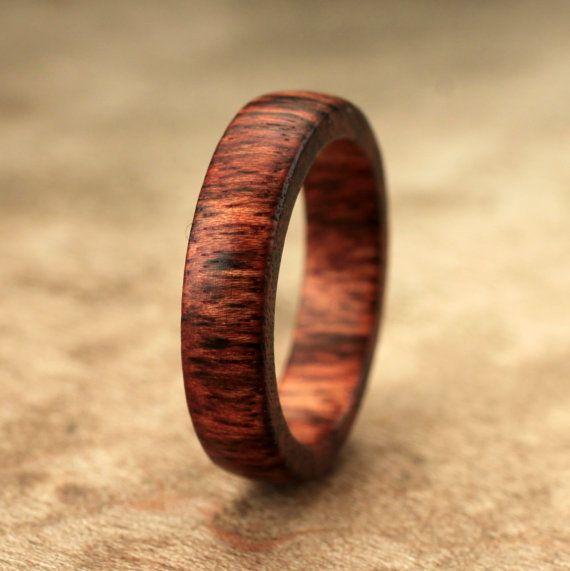 Size 7.75 - Black Poisonwood Ring No. 49
