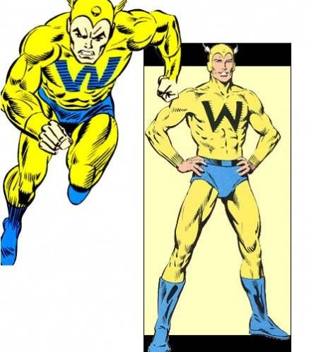 whizzer frank golden age heroes marvel pinterest
