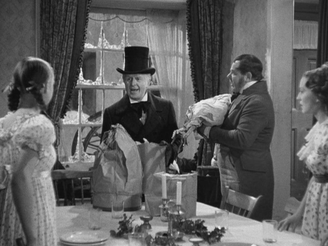 A Christmas Carol Movie 1938 Christmas carol, Christmas