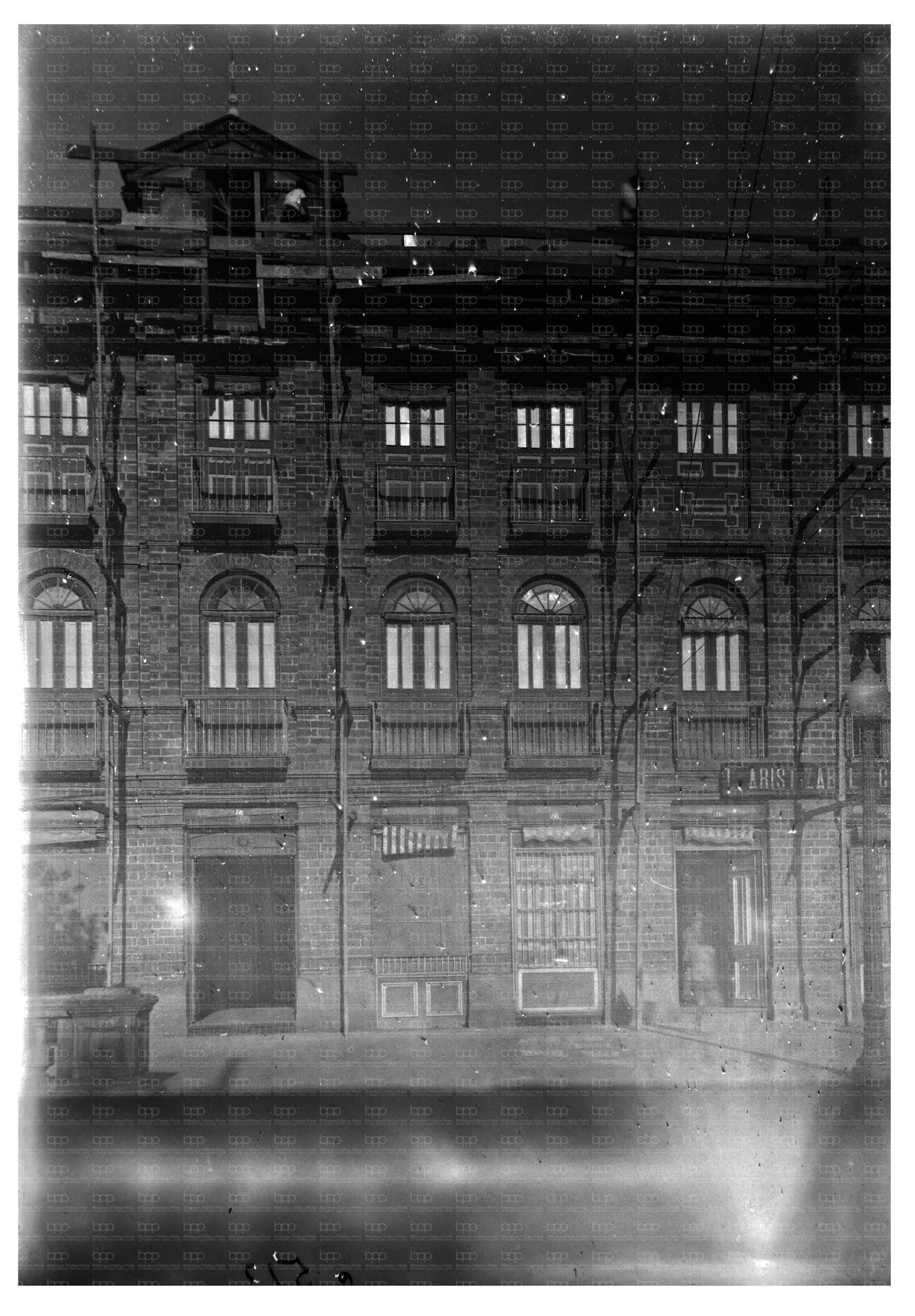 1926. Edificio Rojas.  Fotografía Rodríguez