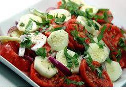 Weight Watchers Recipes - Tomato, Onion & Cucumber Salad