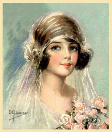 1920s Vintage Wedding Ideas: 1920s Bride ~ O. Greiner