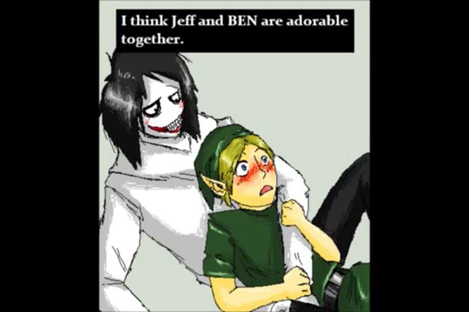 Creepypasta Ben X Jeff
