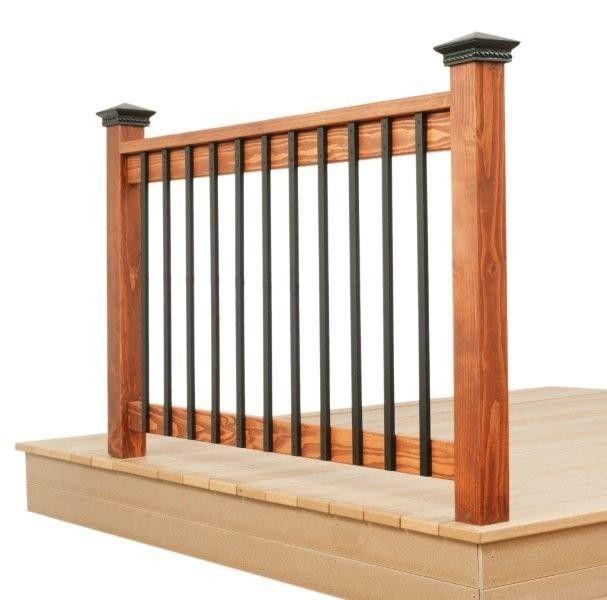 Deck Rail Deck Railings Aluminum Balusters Building A Deck