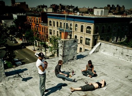 Roof Top Chillin In Bed Stuy Bed Stuy Bedford Stuyvesant The