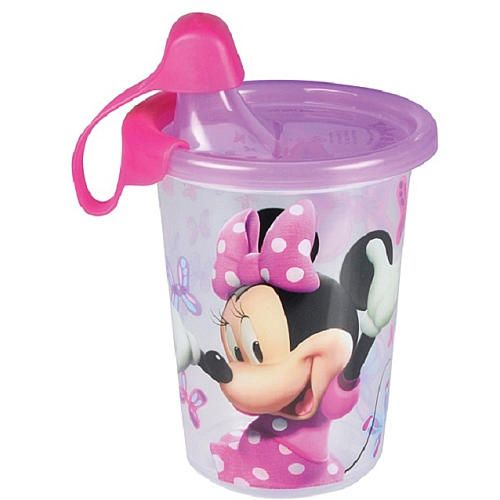 The First Years Disney Minnie Take Toss 10 Ounce Sippy Cup 3 Pack Tomy Toys R Us Sippy Cup Baby Minnie Mouse Minnie