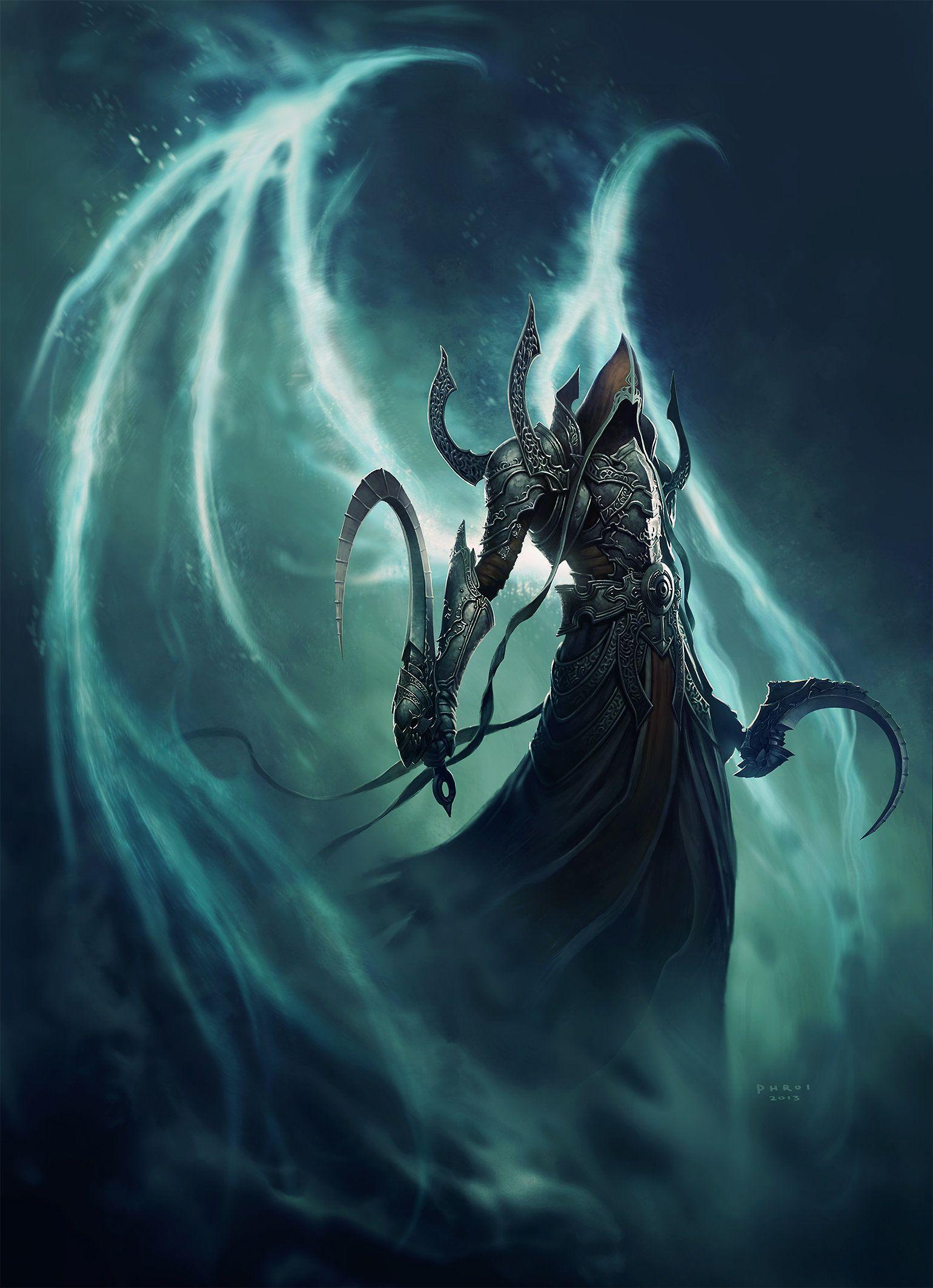ArtStation - Malthael Reaper of Souls, Phroilan Gardner