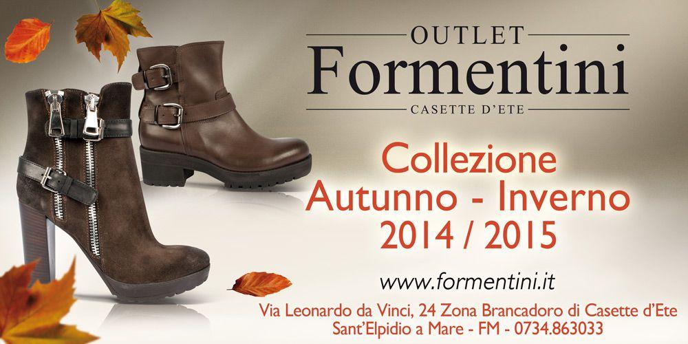 Un buongiorno a tutte le nostre amiche!!  Anche questa settimana partiamo alla grande con tanti NUOVI ARRIVI tra stivali, stivaletti e tronchetti presso il nostro OUTLET!!! www.formentini.it