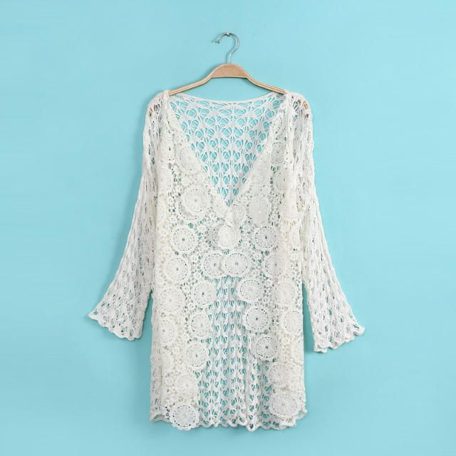 Pura Vida Crochet Cardigan | moda | Pinterest